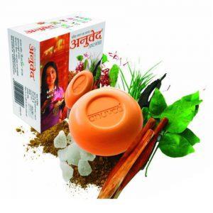 Anuved Ashtagandha Soap, 125 Gm