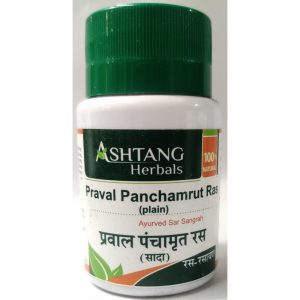 Ashtang Praval Panchamrut Ras, 120 Ta