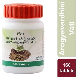 Patanjali Divya Arogyavardhani Vati, 160 Tablets