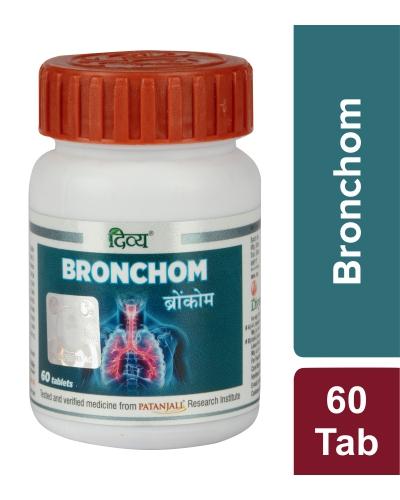 Patanjali Divya Bronchom, 60 Tablets