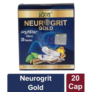 Patanjali Divya Neurogrit Gold, 20 Capsules