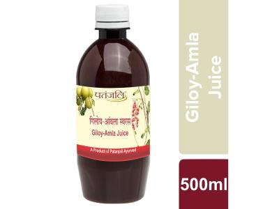 Patanjali Giloy Amla Juice, 500 Ml