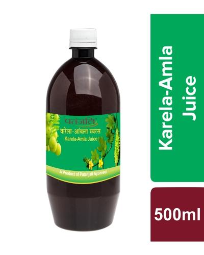 Patanjali Karela Amla Juice, 500 Ml