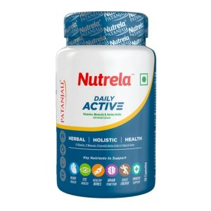 Patanjali Nutrela Daily Active, 30 Capsules