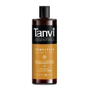 Tanvitila (Edible) Oil: Siddha Sesame Oil, 100 Ml