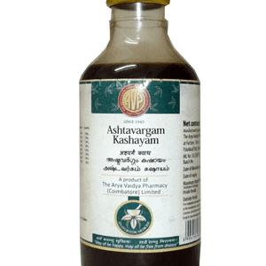 Arya Vaidya Pharmacy (AVP) Ashtavargam Kashayam, 200Ml