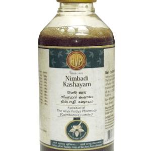 Arya Vaidya Pharmacy (AVP) Nimbadi Kashayam, 200Ml