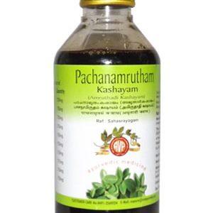 Arya Vaidya Pharmacy (AVP) Pachanamrutham Kashayam (Amruthadi), 200Ml