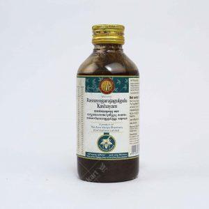 Arya Vaidya Pharmacy (AVP) Rasnayogarajagulgulu Kashayam
