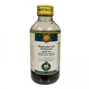 Arya Vaidya Pharmacy (AVP) Bhadradarvadi Kashayam, 200Ml