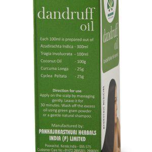 dandruff oil