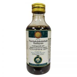 Arya Vaidya Pharmacy (AVP) Panchakolakulathadi Kashayam, 200Ml