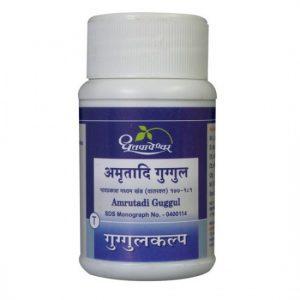 Dhootapapeshwar Amrutadi Guggul, 1000 Tablets