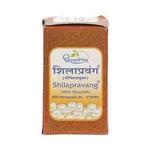 Dhootapapeshwar Shilapravang (with Mouktik), 100 Tablet