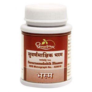 Dhootapapeshwar Swarnmakshik Bhasma