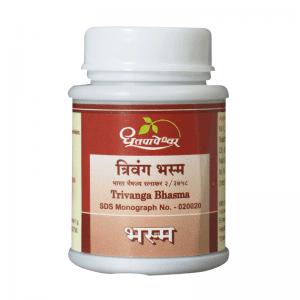 Dhootapapeshwar Trivanga Bhasma, 10 Gm